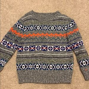 Gap print sweater